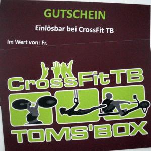 Crossfit TB Gutschein